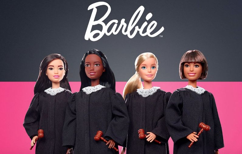 Charitable Judicial Dolls : Barbie's Dream Gap